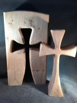 Interactive removable cross